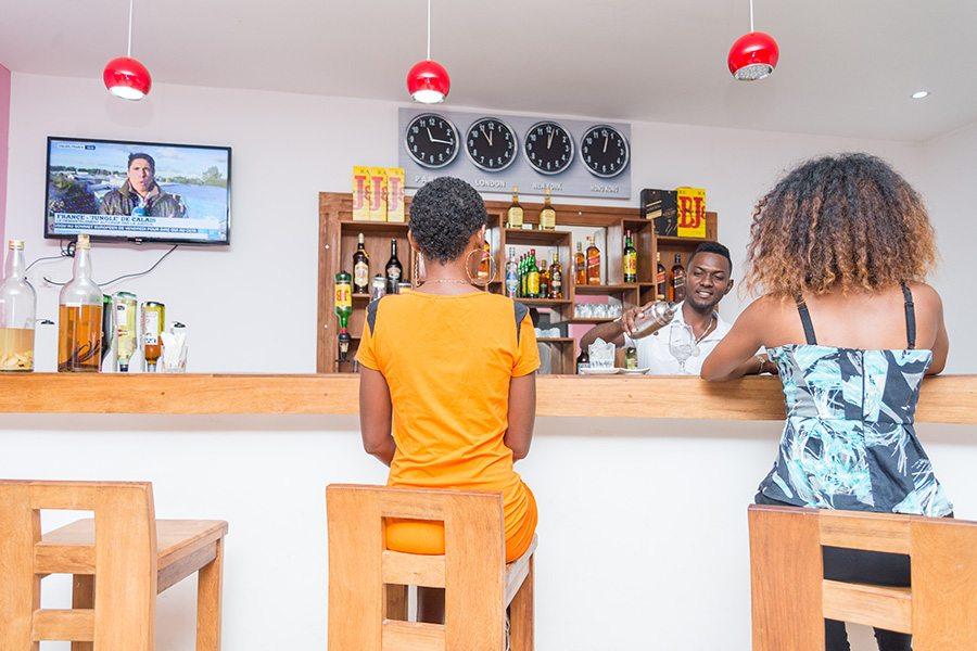 Bar restaurant Majunga Lovencie Lodge Majunga